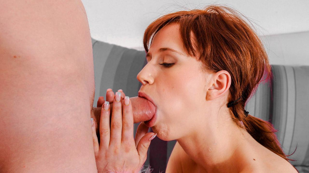 Amateur Teen Licks Balls And Sucks Cock