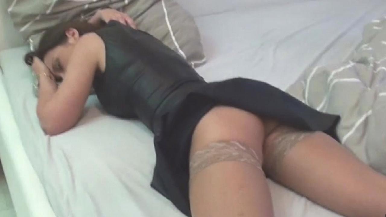 Cum Slut Wakes Up Covered In Goo