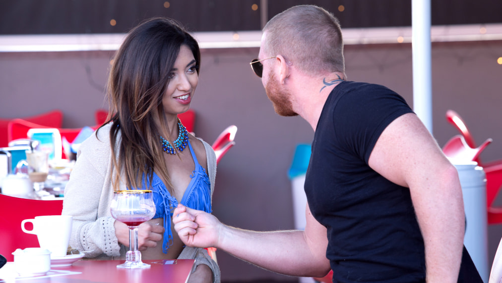 Flirtatious Frida Sante Fucking At The Villas Rooftop