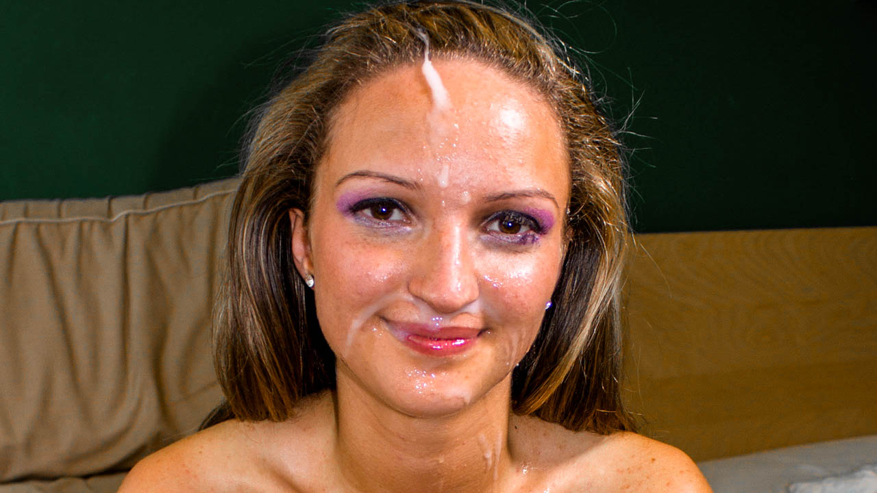 Gentle Facefuck Ends In Face Covered With Cum