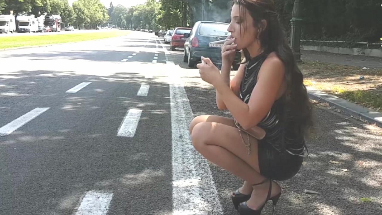 Struttin' In Her Stripper Shoes
